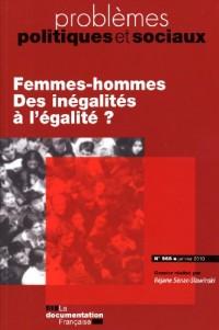 Femmes-hommes. Des inégalites a l'égalite ? (n.968)