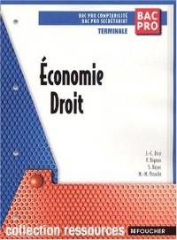 Ressources : Économie - Droit, BAC PRO