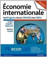 Économie internationale: Pack Premium FR/ENG : Livre en français + MyLab et eText en anglais - Licence étudiant 12 mois