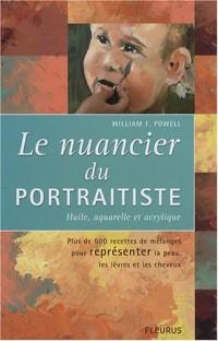 Le nuancier du portraitiste : Huile, aquarelle et acrylique