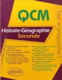 QCM Histoire-Géographie, seconde