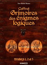 Coffret Grimoire des Enigmes Logiques en 3 Volumes