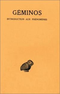 Introduction aux phénomènes