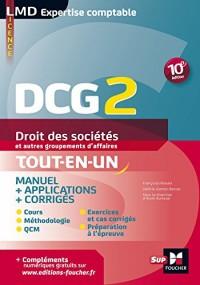 DCG 2 - Droit des sociétés et autres groupements d'affaires - Manuel et applications - 10e édition