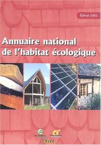 Annuaire national de l'habitat écologique