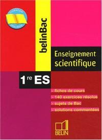 Enseignement scientifique 1ère ES