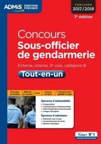 Concours Sous Officier de Gendarmerie Cat B Tout en un 7e Edt