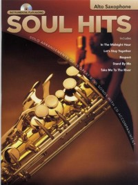 Instrumental Play-Along: Soul Hits (Alto Saxophone). Partitions, CD pour Saxophone Alto