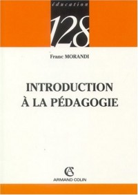 Introduction à la pédagogie