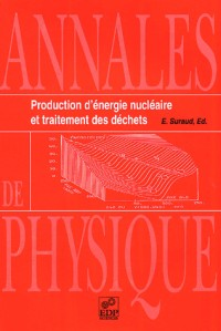 Production d'energie nucléaire et traitement des déchets
