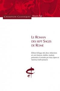 Le roman des sept sages de Rome