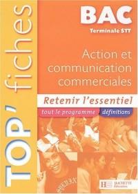 Top'fiche, terminal STT : Action et Communication commerciales