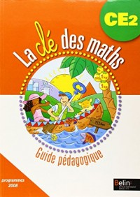 La Cle des Maths CE2 Pack Guide Liv +CD