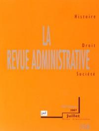 La Revue Administrative N 358 60e Annee Juillet 2007
