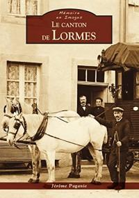 Le canton de Lormes