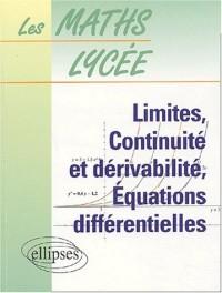Limites, continuité et dérivabilité, équations différentielles, numéro 4
