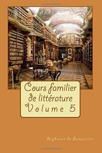 Cours familier de littérature