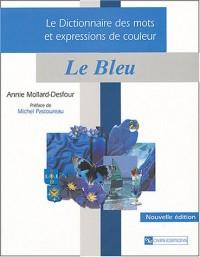 Dictionnaire des mots et expressions, couleur bleu