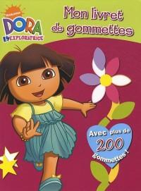 Mon livret de gommettes Dora l'exploratrice