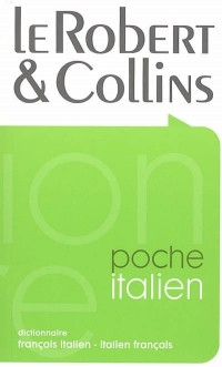 Le Robert & Collins poche : Dictionnaire français italien-italien français