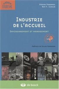 Industrie de l'accueil : Environnement et management