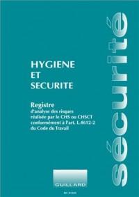 Registre d'hygiène et sécurité