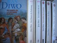 jean diwo - lot 6 livres : au temps ou la joconde parlait - les dames du faubourg - les violons du roi - demoiselles des lumieres - la fontainiere du roy - les ombrelles de versailles
