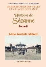 Sezanne (Histoire de) Tome II