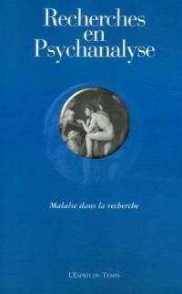 Recherches en Psychanalyse, N° 5/2006 :