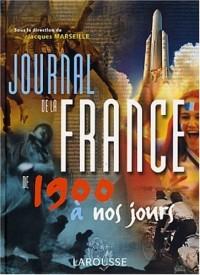Journal de la France de 1900 à nos jours