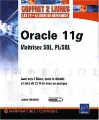 Oracle 11g - Coffret de 2 livres : Maitrisez SQL, PL/SQL