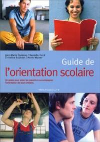 Guide de l'orientation scolaire