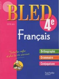 Français 4e : 13-14 ans