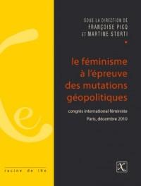 Feminisme a l'épreuve des mutations géopolitiques