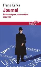 Journal: Édition intégrale, douze cahiers (1909-1923) [Poche]