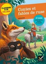 Contes et fables de ruse: La Fontaine, Perrault, Grimm, Andersen, M. Aymé [Poche]