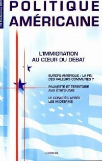 L'Immigration au coeur du débat (N.8 - Eté-Automne 2007)