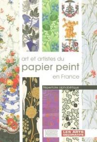 Arts et artistes du papier peint