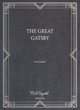 The great Gatsby : Manuscript