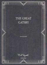 The great Gatsby : Manuscript