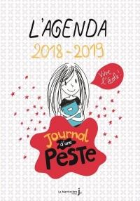 L'agenda 2018-2019 Journal d'une peste Vive l'école !