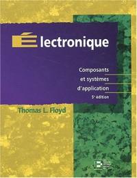 Electronique : composants et systèmes d'application