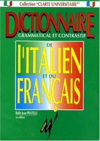 Dictionnaire grammatical et contrastif de l'italien et du français