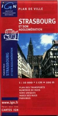 72359 Plan de Strasbourg 1/10.000
