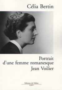 Portrait d'une femme romanesque : Jean Voilier