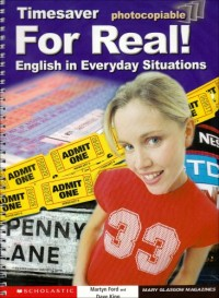 For Real ! : English in Everyday Situations, Photocopiable (1CD audio)