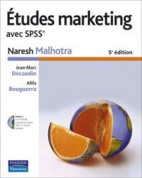 Etudes marketing avec SPSS (1Cédérom)