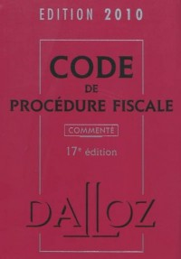 Code procédure fiscale