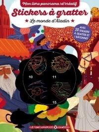 Stickers a Gratter - le Monde d'Aladin