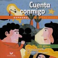 Cuenta Conmigo : Espagnol, 3e LV2, 1ère LV3 (CD audio)